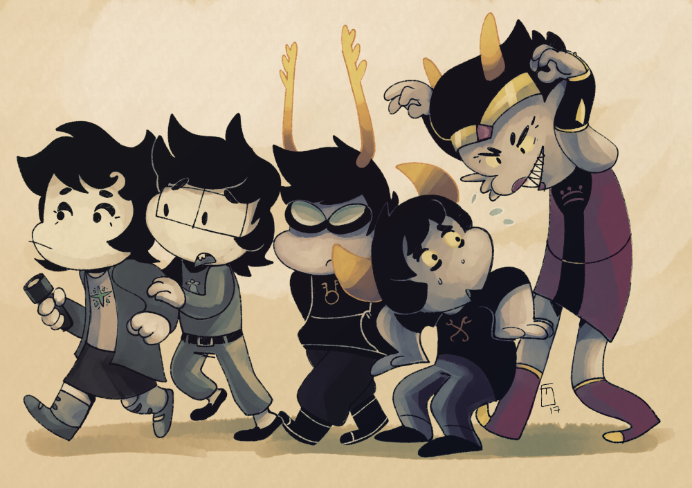 dammek gilly-e hiveswap joey_claire jude_harley sweat trizza_tethis xefros_tritoh