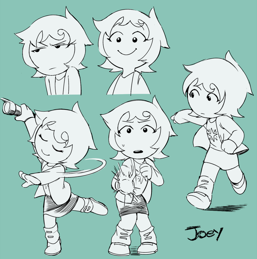 flashlight hiveswap honesk1 joey_claire multiple_personas sketch solo