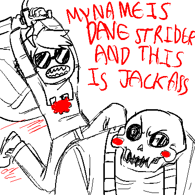 crossover dave_strider godtier highlight_color jackass knight lord_english turtle-demon