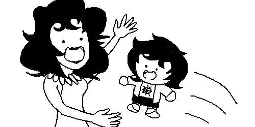 chibi hiveswap joey_claire mrs_claire skellyanon