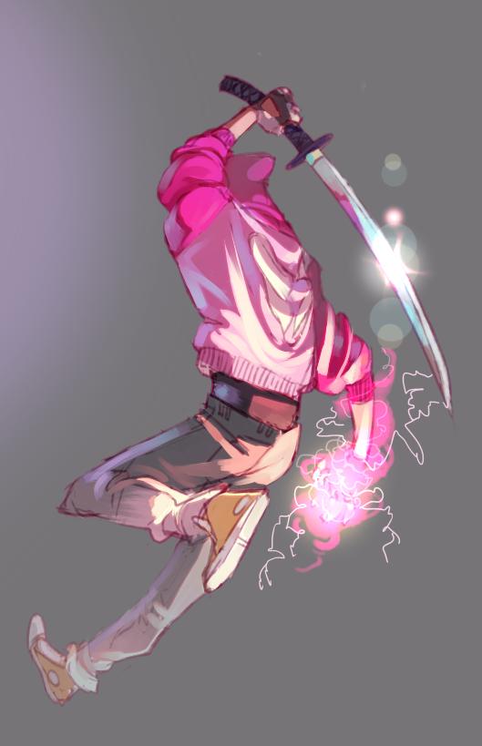 back_angle dirk_strider godtier heart_aspect modtier prince rocketroar solo unbreakable_katana weapon