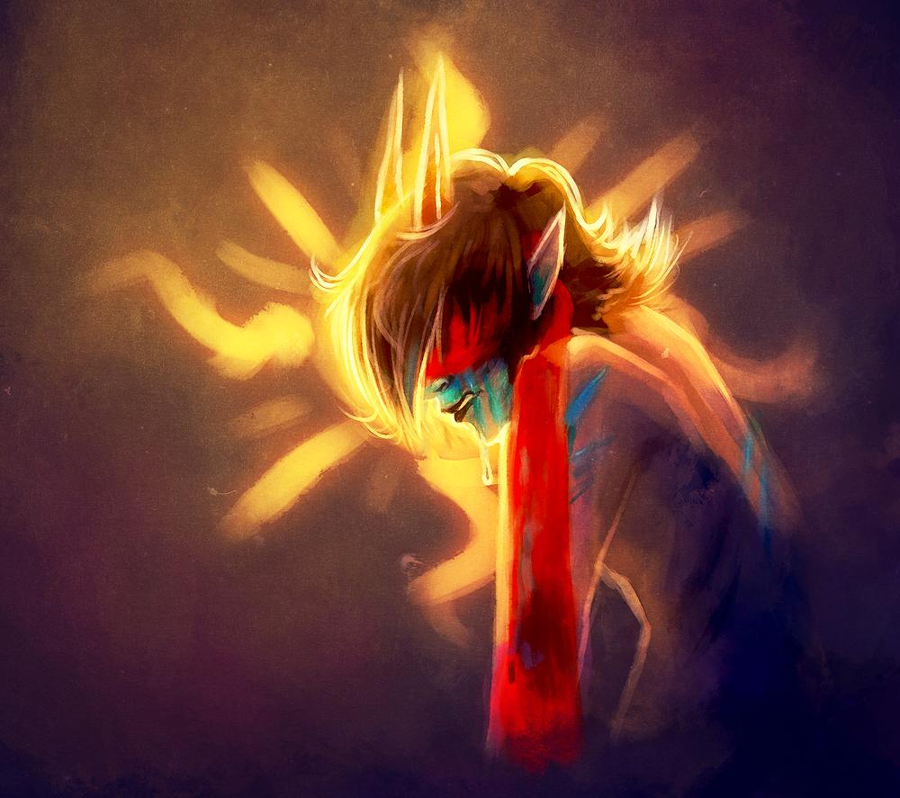 aspect_symbol blindfold blood crying light_aspect no_shirt profile solo terezi_pyrope yoccu