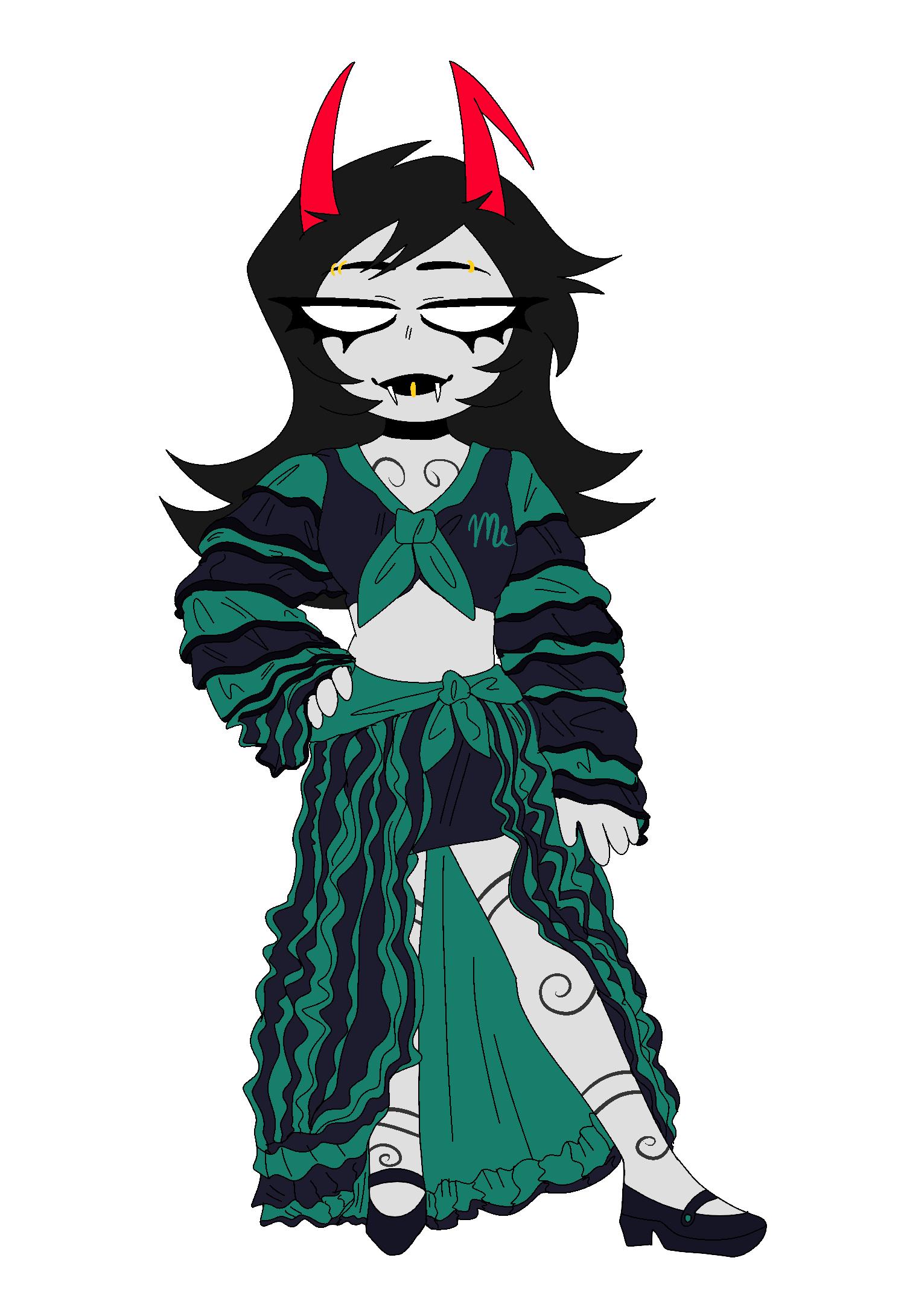 dream_ghost fashion porrim_maryam solo voidlace