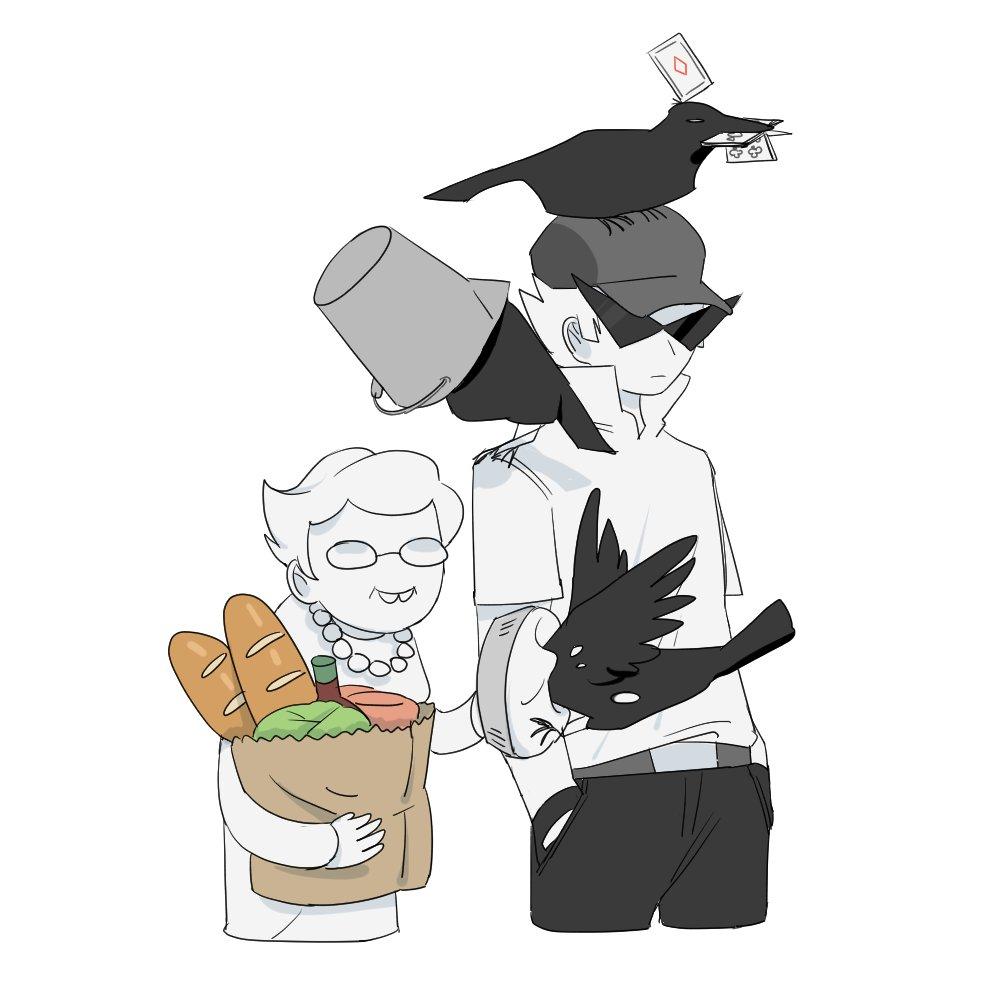aloesirm bro bucket crows nanna twitter