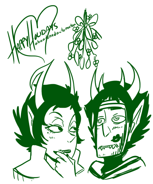 ancestors holidaystuck lipstick_stains makiokuta redrom shipping the_dolorosa the_psiioniic viirgiin_maryam