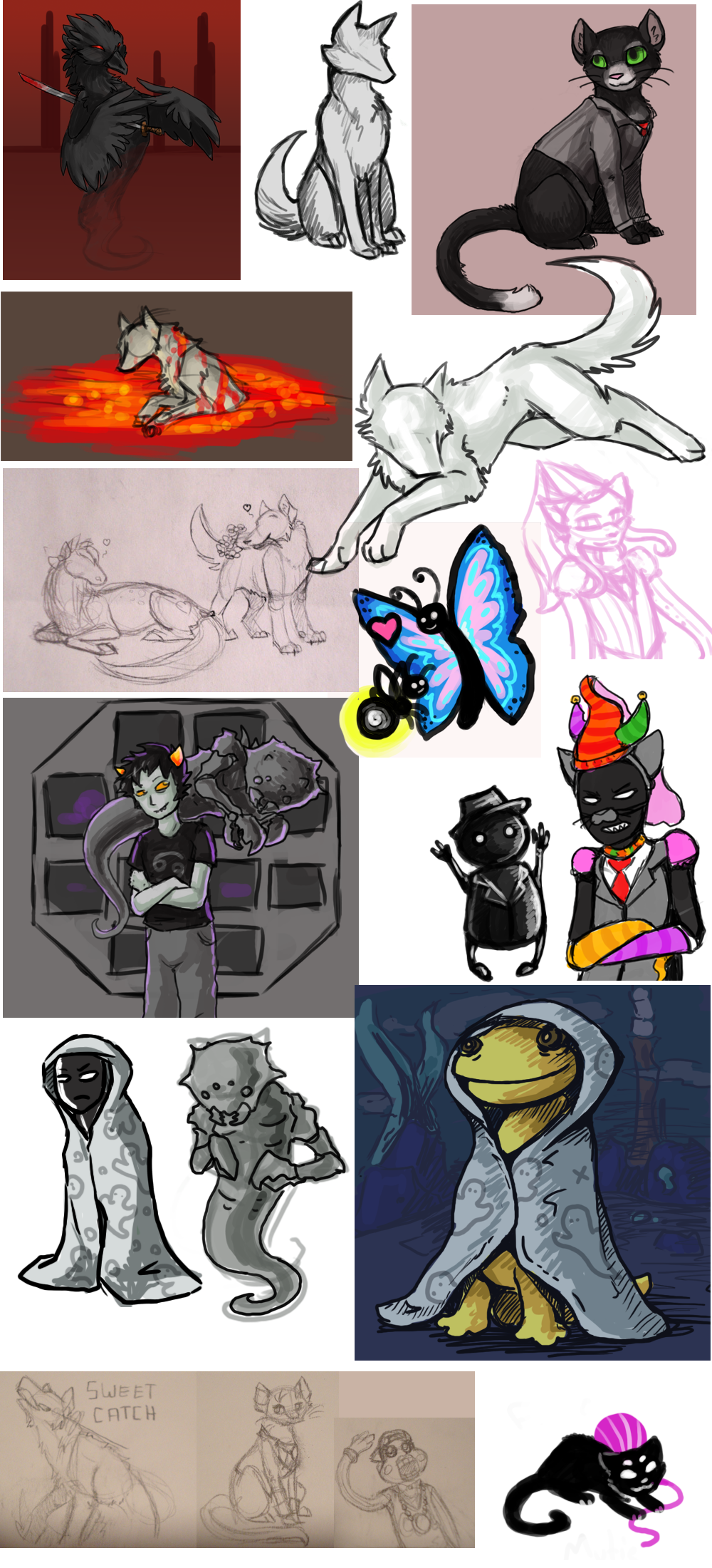 akrona animal_ears archagent arms_crossed art_dump becquerel blood butterfly cd city clubs_deuce consorts crabdad crabdadsprite flowers heart impalement jack_noir jaspers jaspersprite karkat_vantas katana land_of_wind_and_shade lil_cal lusus maplehoof redrom salamanders secret_wizard seppucrow serenity shipping smiling_karkat spades_slick sprite vodka_mutini yarn
