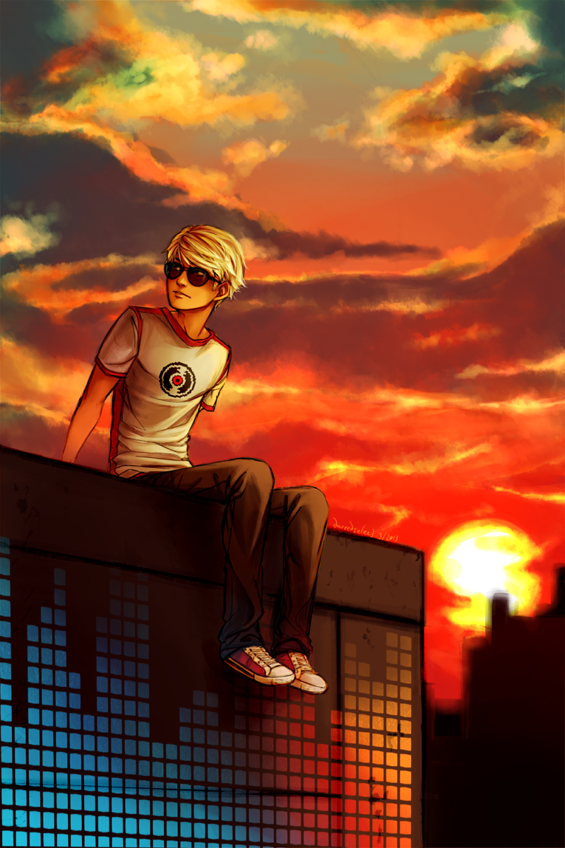 city clouds dareedse dave_strider solo starter_outfit