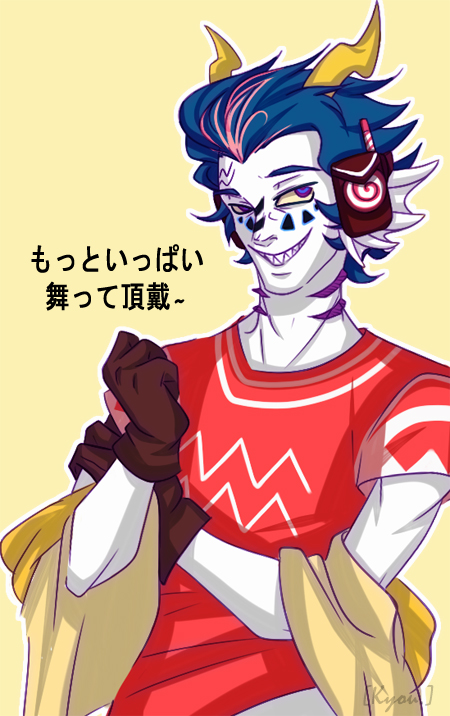admantist body_modification cronus_ampora crossover facepaint language:japanese matryoshka solo trickster_mode vocaloid