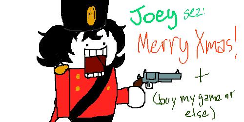 gun hiveswap holidaystuck joey_claire skellyanon solo