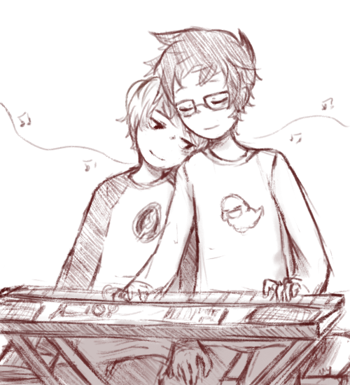 dave_strider diabetes grayscale hammertime head_on_shoulder instrument john_egbert music_note nymphicus redrom shipping