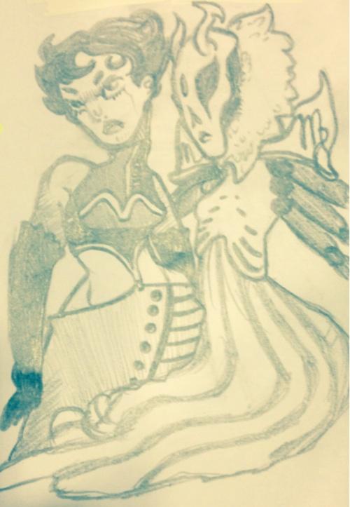 crossover humanized jojo's_bizarre_adventure kanaya_maryam kmbackwardsk lusus virgin_mother_grub
