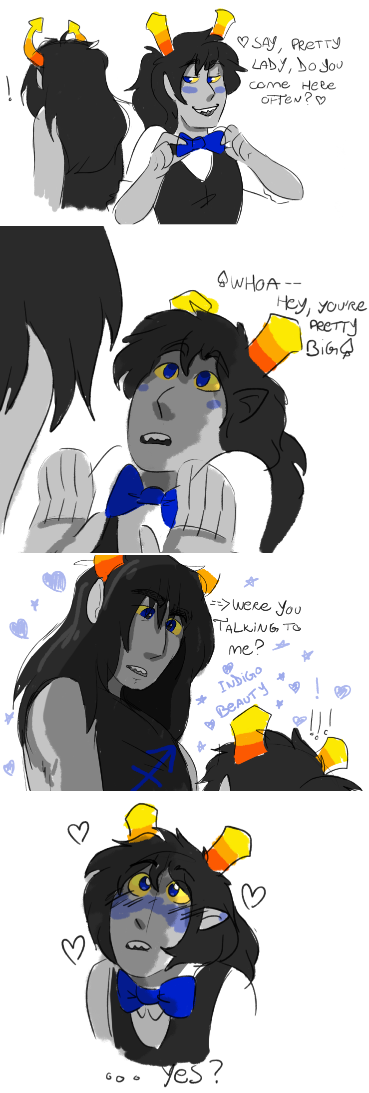 blush comic equius_zahhak heart hiveswap no_glasses sharunie shipping text zebruh_codakk