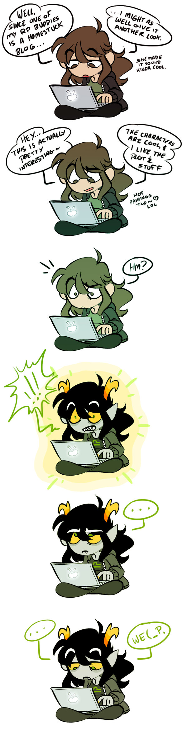 ! comic computer fandom fantroll heart jigokuhana the_truth