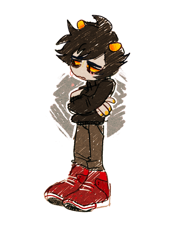 arms_crossed crying karkat_vantas private_source solo yt