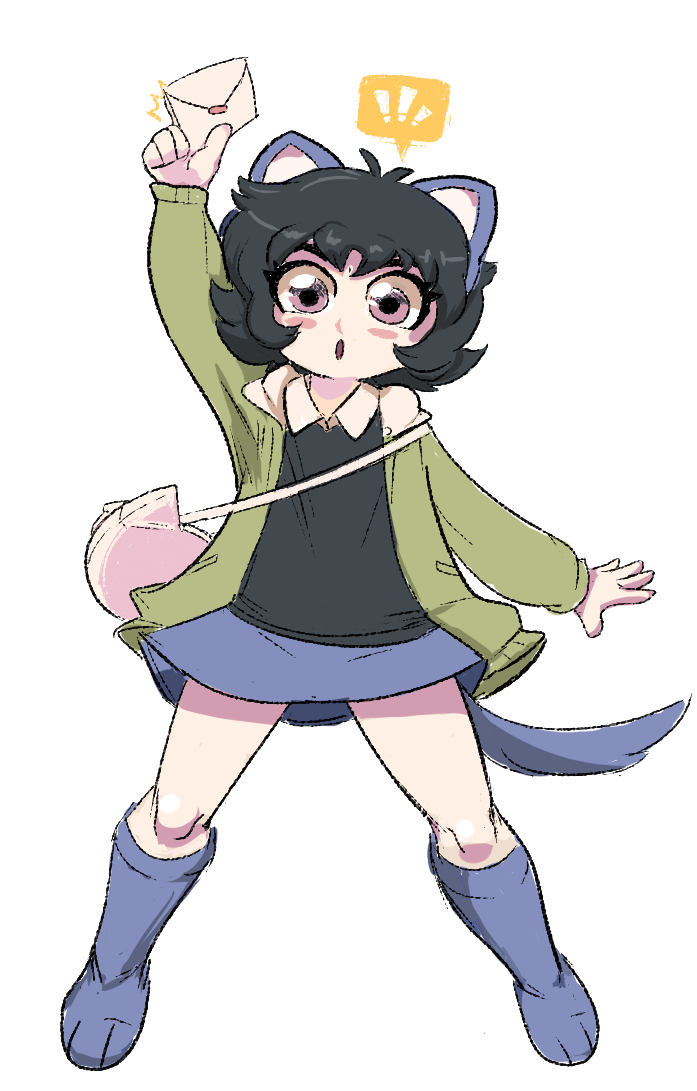 ! animal_ears aquariumstuck au humanized nepeta_leijon newtypehero solo