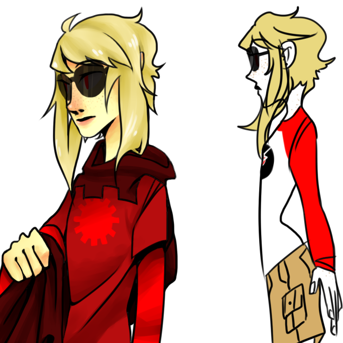 codpiecequeen dave_strider freckles godtier knight red_baseball_tee rule63 solo