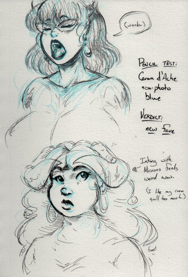 aradia_megido aranea_serket art_dump audiophilekitsune dancestors headshot sketch text twitter word_balloon