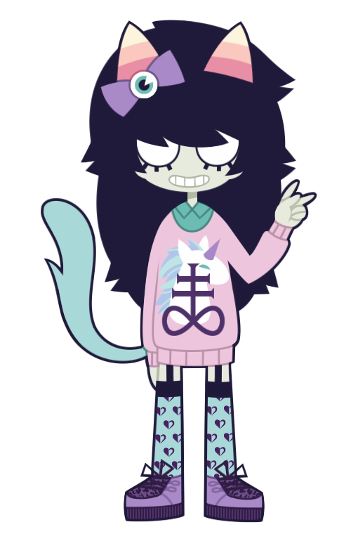 casual dancestors dream_ghost fashion meulin_leijon nekozneko pastel_goth solo transparent