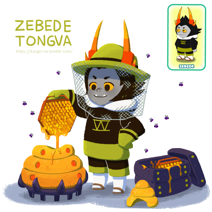 bees hiveswap kango-oa mind_honey solo zebede_tongva