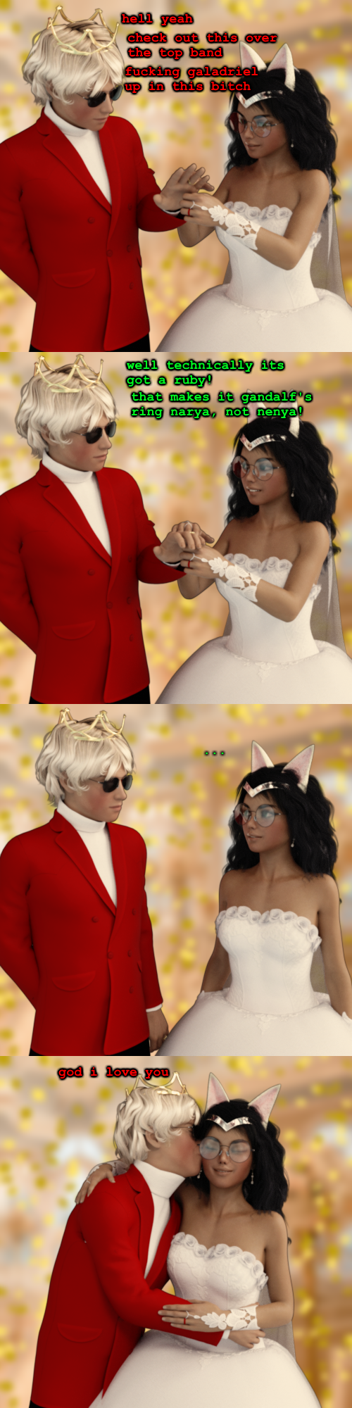 3d breedingduties comic dave_strider dogtier formal jade_harley lord_of_the_rings redrom shipping spacetime text