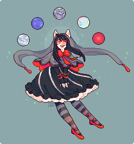 battlefield choombie jade_harley land_of_frost_and_frogs land_of_heat_and_clockwork land_of_light_and_rain land_of_wind_and_shade non_canon_design pixel planets solo twitter witch
