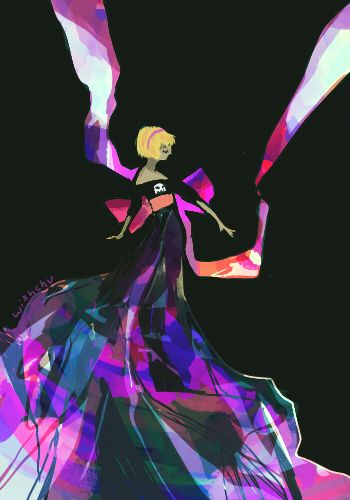 black_squiddle_dress rose_lalonde solo wishchu