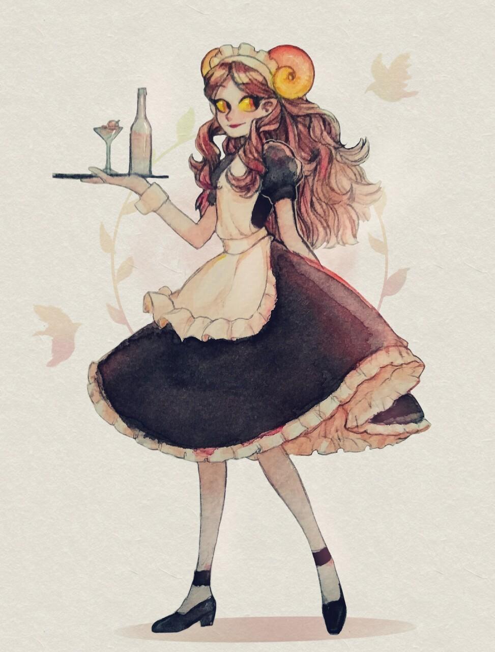 aaaaarth aradia_megido maid solo