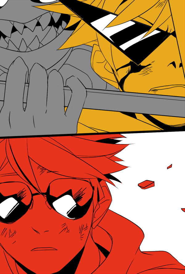 blood dave_strider dirk_strider godtier haaaast heart_aspect highlight_color jack_noir knight panel_redraw prince time_aspect union_jack