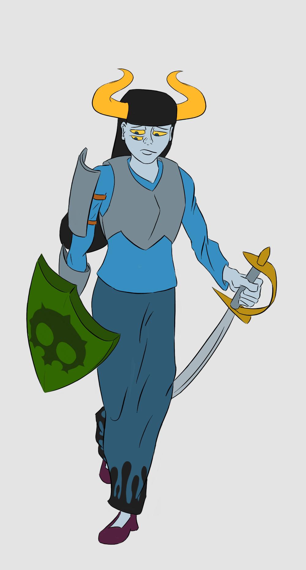ardata_carmia doom_aspect fantasystuck hiveswap knight non_canon_design solo thatlldoodles