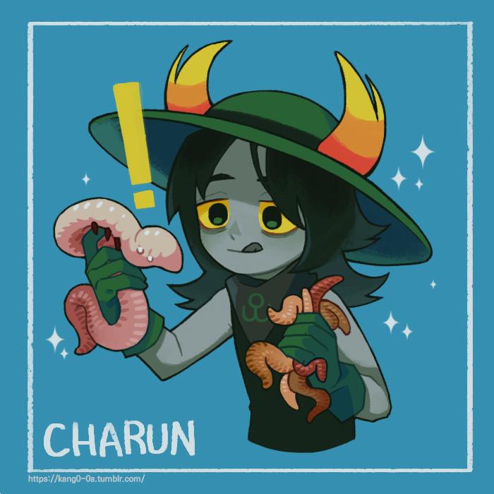 ! charun_krojib hiveswap kang0-0a solo worms