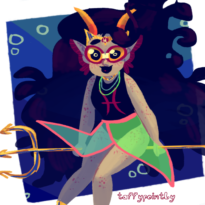 feferi_peixes freckles psidon's_entente solo taffypointby transparent underwater