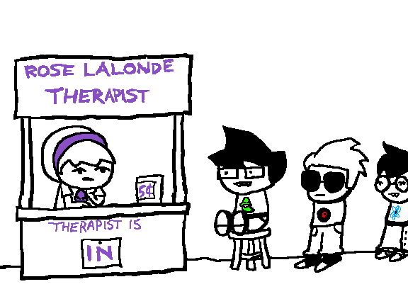 beta_kids crossover dave_strider jade_harley john_egbert peanuts rose_lalonde source_needed sourcing_attempted