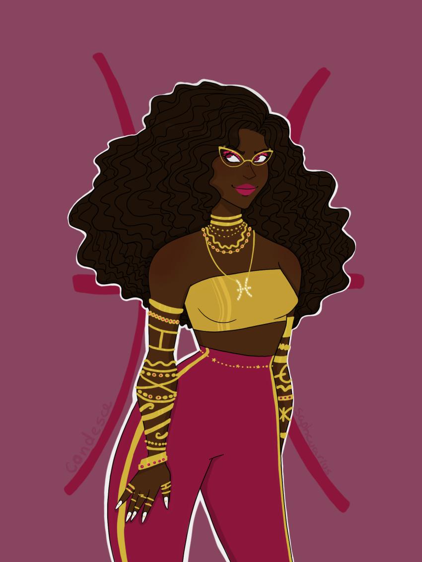 ancestors her_imperious_condescension humanized jewelry native_source saphcuarius solo zodiac_symbol