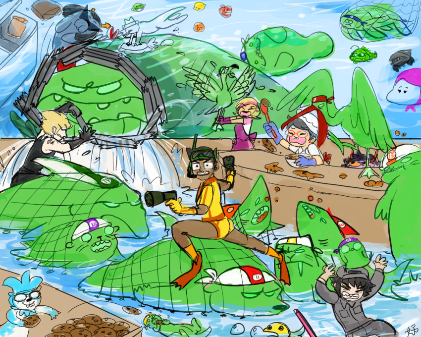 alpha_kids animalstuck aquariumstuck au biscuits calliope cans casey clover consorts crab_apple crowbar dad die dirk_strider doze eggs equius_zahhak eureka_lemon felt fin food fridge gamzee_makara glub humanized itchy jake_english jane_crocker karkat_vantas key_lime mandarin_orange matchsticks ms_paint nannasprite panel_redraw quarters roxy_lalonde salamanders salihombox sawbuck spoon sprite stitch strong_outfit strong_tanktop trace wayward_vagabond wv