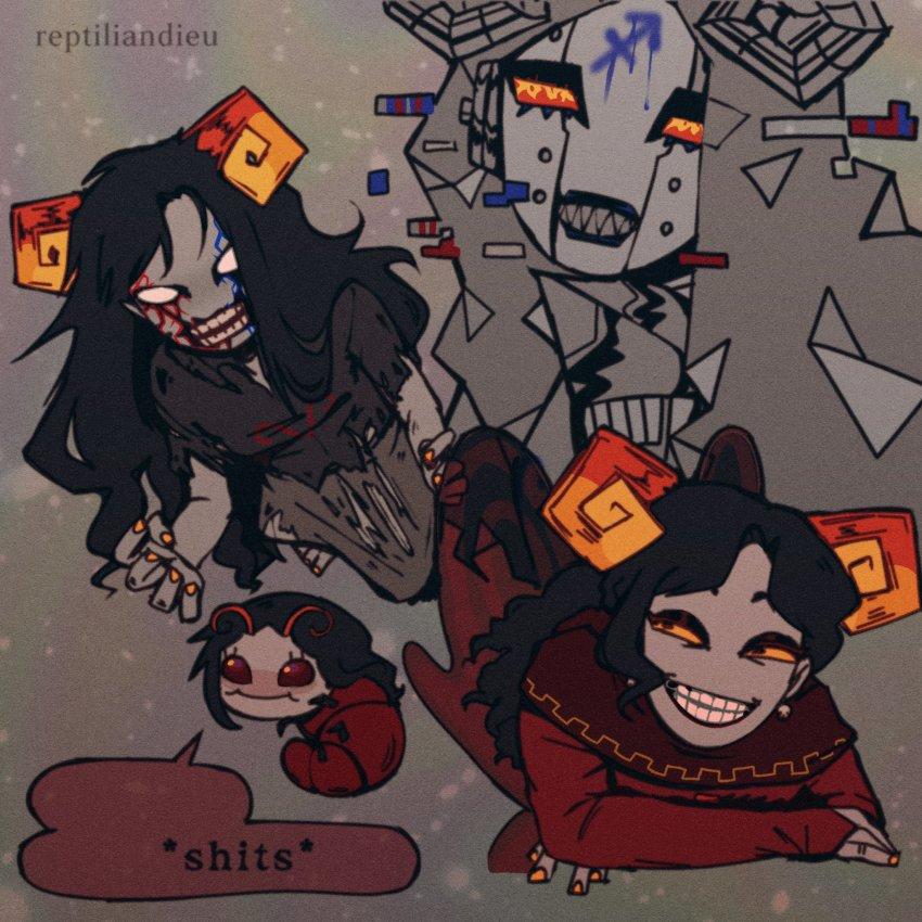 aradia_megido aradiabot ghosts grubs maid reptiliandieu twitter