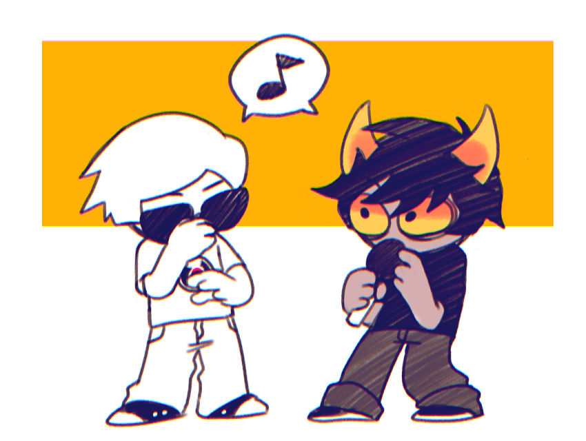 dave_strider hiveswap microphone music_note paransack word_balloon xefros_tritoh