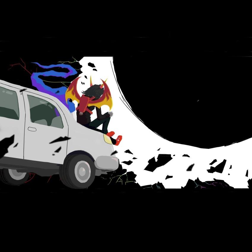 bluesclues breath_aspect car godtier heir john_egbert rocket_wings srbartblog terezi_pyrope