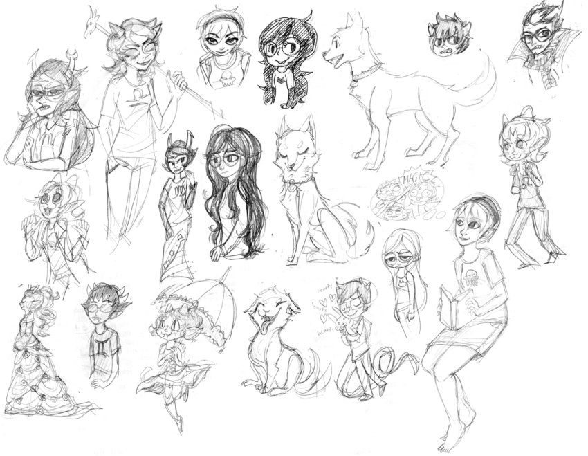 art_dump becquerel book breath_aspect dragon_cane eridan_ampora fashion feferi_peixes godtier grayscale harry_potter heart heir hug jade_harley john_egbert kanaya_maryam karkat_vantas littlebirdkisses liv_tyler nepeta_leijon no_hat rose_lalonde sketch starter_outfit terezi_pyrope thought_balloon umbrella vriska_serket