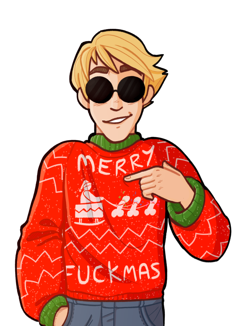 awolcarbonate casual dave_strider fashion holidaystuck solo text