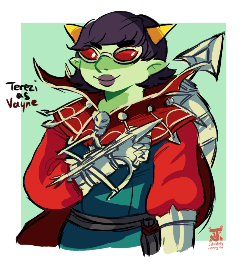cosplay crossover jununy league_of_legends solo terezi_pyrope