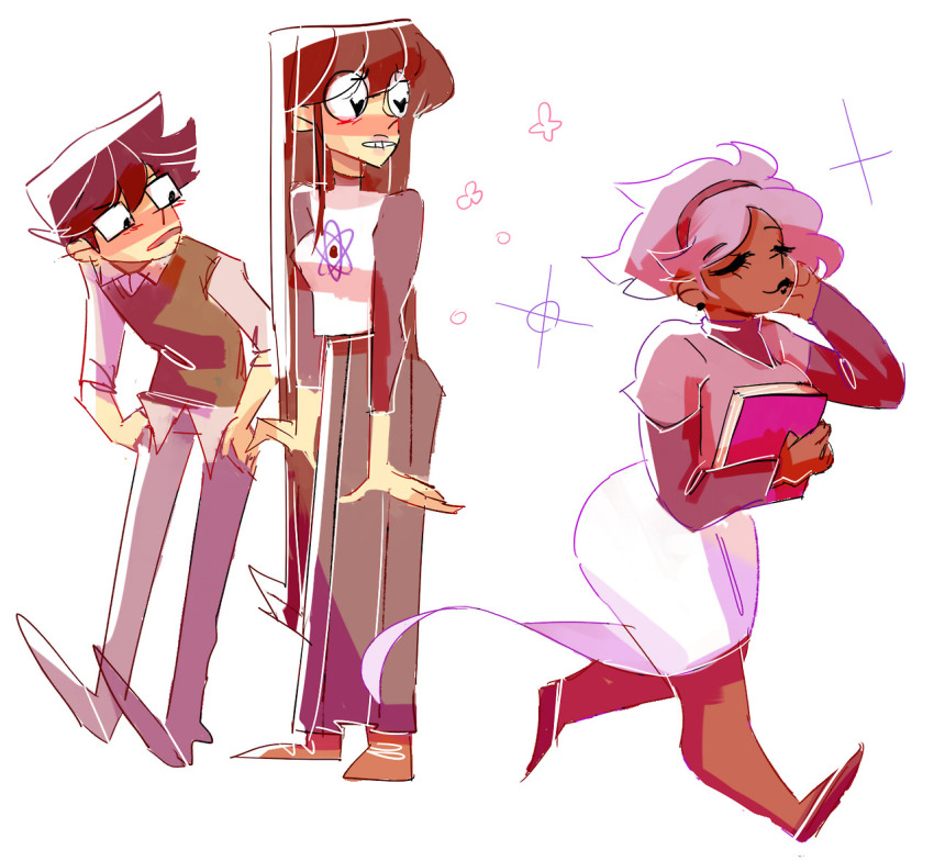 blush book casual grimdorks guns_and_roses jade_harley john_egbert multishipping rose_lalonde shipping somebrainfuckedbird