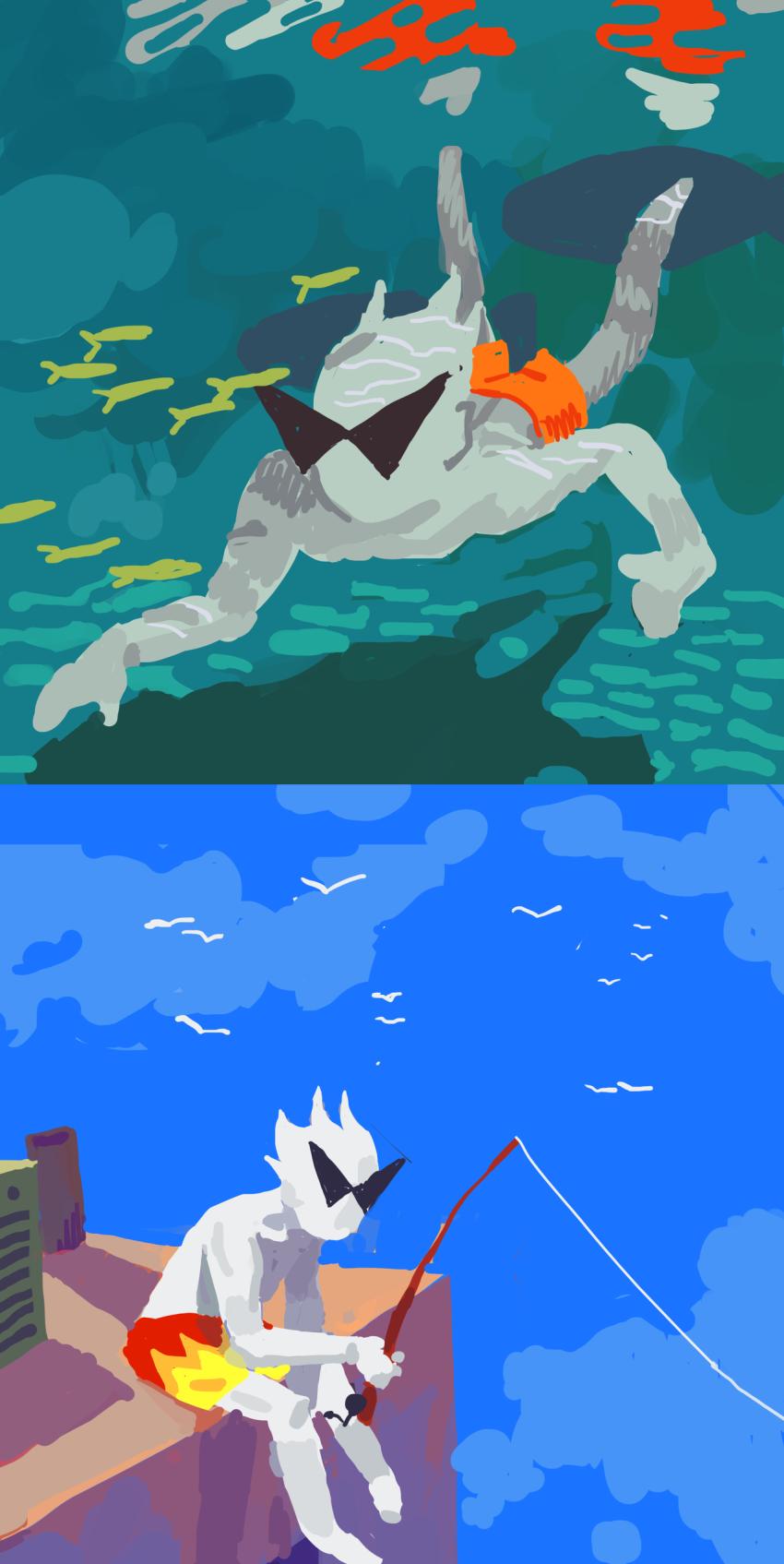 1800redpop dirk_strider seagulls solo underwater