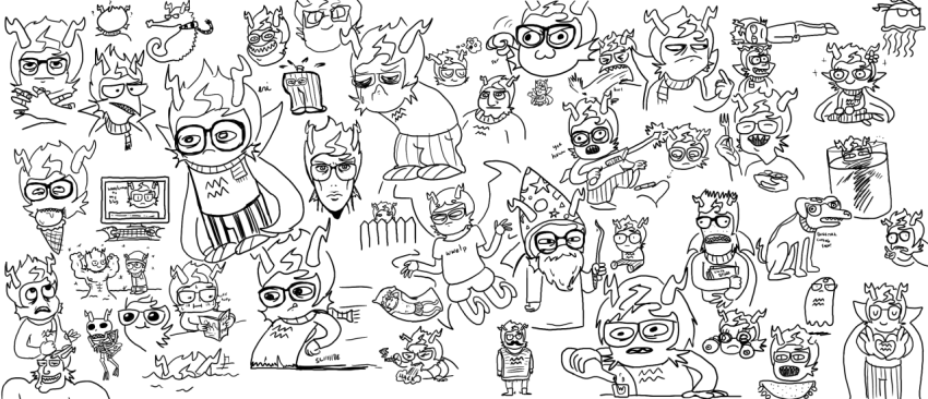 (0_‿_0_✿) ? ahab's_crosshairs alcohol alternate_hair animalstuck art_dump blood blush book codtier computer crying dead diamond dream_ghost eridan's_guts eridan_ampora food freckles godtier grayscale headshot heart hope_aspect kneeling laughing_alone_with_salad meme multiple_personas no_glasses prince skellyanon smiling_eridan smoking solo spade the_finger thought_balloon vomit wizard_hat