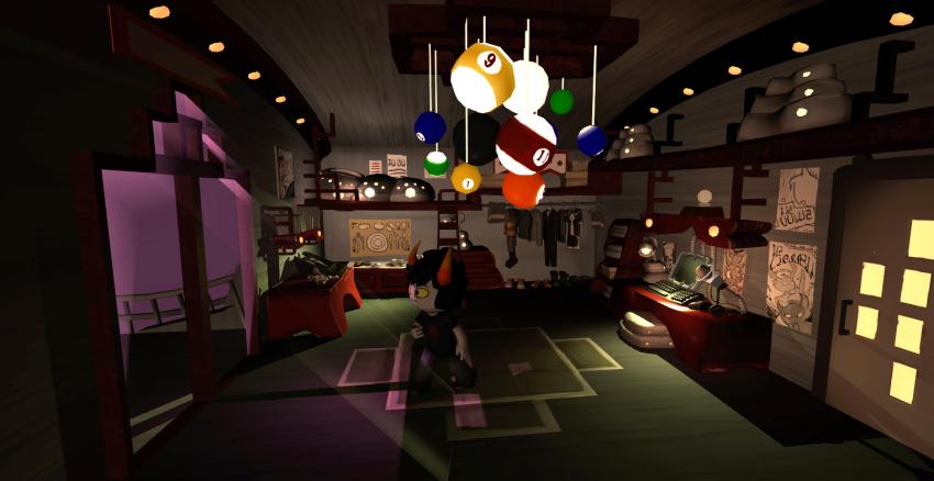 3d hiveswap homestuck_adventure_game official_art xefros_tritoh
