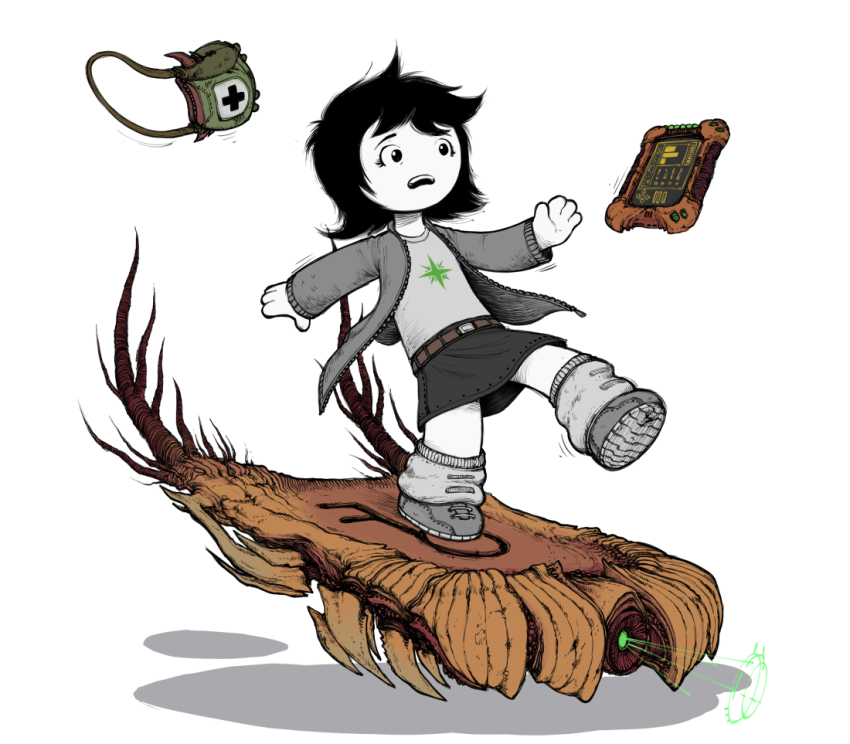 hiveswap joey_claire roving-neophyte solo transparent