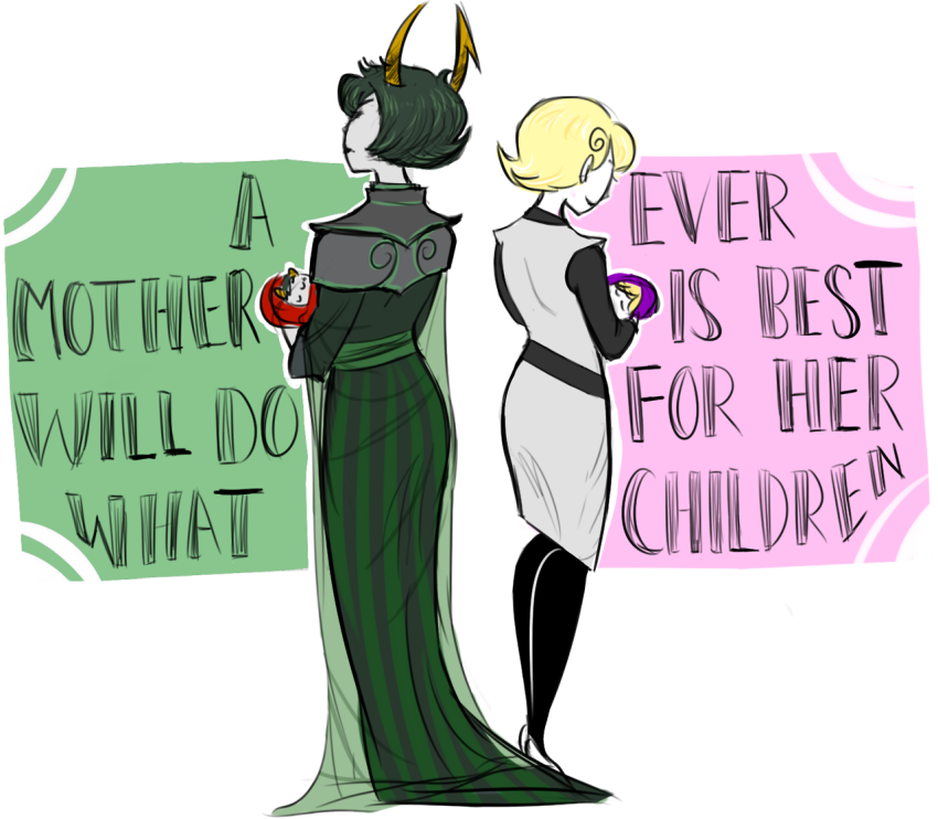 ancestors babies back_angle carrying dolomom grubs mom rose_lalonde striderswag the_dolorosa the_sufferer