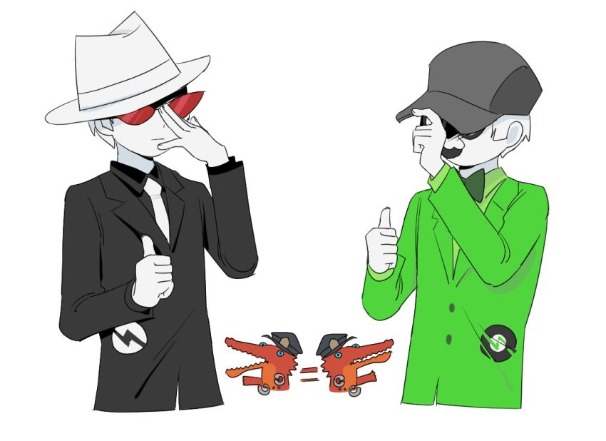 aloesirm crocodiles dave_strider felt_duds four_aces_suited multiple_personas thumbs_up twitter