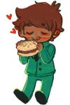 blush food heart john_egbert redkimchi solo wise_guy_slime_suit rating:Safe score:4 user:Pie