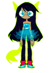 bardofrage dogtail dogtier dress_of_eclectica jade_harley solo stars transparent rating:Safe score:2 user:sync
