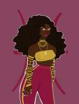 ancestors her_imperious_condescension humanized jewelry native_source saphcuarius solo zodiac_symbol  rating:safe score:1 user:saphcuarius